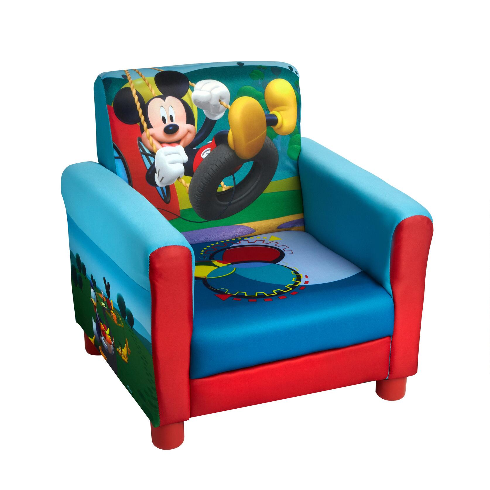 Disney® Mickey Mouse Childrenu0027s Upholstered Chair