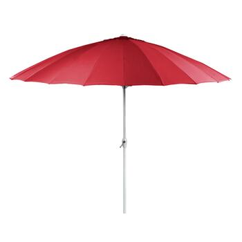 10' Red Crank/Tilt Shanghai Umbrella