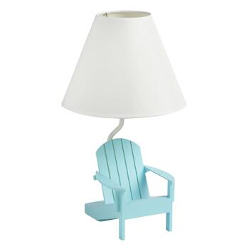 "13.5"" Adirondack Chair Table Lamp"