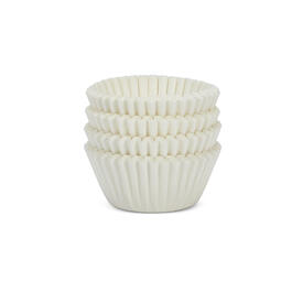 White Cupcake Liners, 100-Count view 1