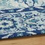 Blue Venezia Tapestry All-Weather Rug view 2
