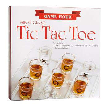 Game Hour™ Shot Glass Tic Tac Toe view 2