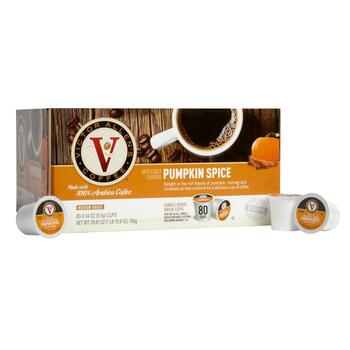 Victor Allen's® Pumpkin Spice Coffee Pods, 80-Count view 1