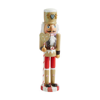 "15"" Gingerbread Man Nutcracker"