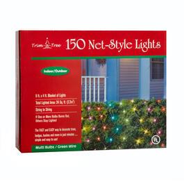 multicolor indooroutdoor net lights