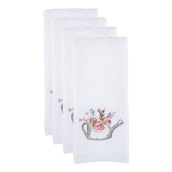Watering Can Cotton Hand Towels, Set of 2 view 1