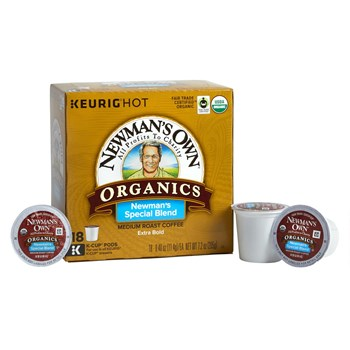 Newman's Own® Special Blend Coffee Pods, 4 Boxes