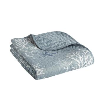 Fenwick Quilted Throw Blanket