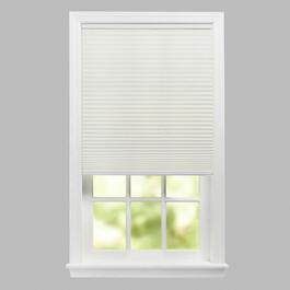 "72"" White Cellular Cordless Window Shade"