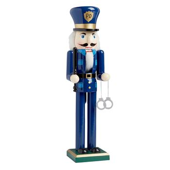"15"" Police Officer Nutcracker"