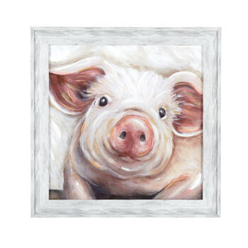 "24"" Pig Wood Frame Wall Art view 1"