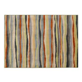 5'x7' Multicolor Stripe Area Rug