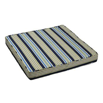 Waverly® Striped Indoor/Outdoor Deep Seat Pad
