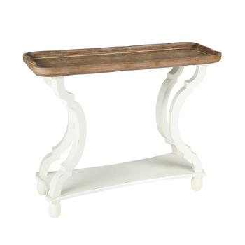 The Grainhouse™ Scallop Console Table