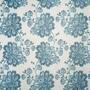 "84"" Blue Amore Grommet Top Window Curtains, Set of 2 view 2"