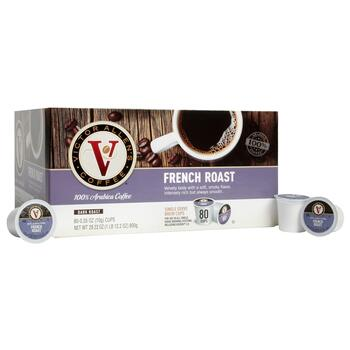 Victor Allen's® French Roast Coffee Pods, 80-Count
