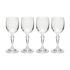 6-oz. European Flared Stem Wine Glasses, Set of 4