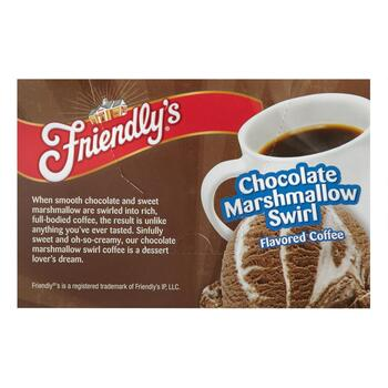 Friendly's® Chocolate Marshmallow Swirl Coffee Pods, 6-Boxes view 2