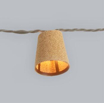 "The Grainhouse™ 92"" Cylinder String Lights view 2"