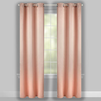 "84"" Amory Room Darkening Grommet Top Window Curtains, Set of 2 view 2"