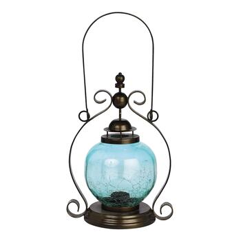 "13"" Crackle Ball Lantern"