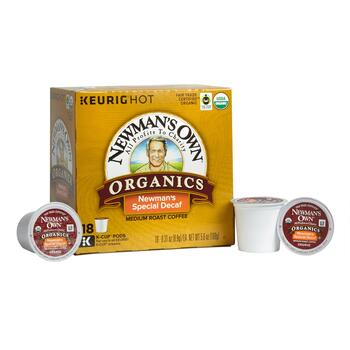 Newman's Own® Special Decaf Coffee Pods, 4 Boxes