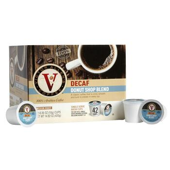 Victor Allen's® Decaf Donut Shop Coffee Pods, 42-Count