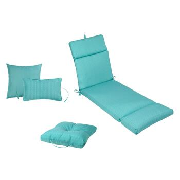 Teal Indoor/Outdoor Pads and Cushions