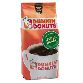 Dunkin' Donuts® Decaf Ground Coffee, 6 Bags