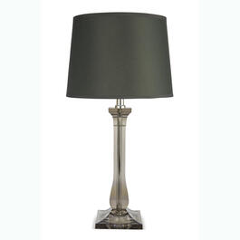 "Smoke 19"" Acrylic Table Lamp view 1"