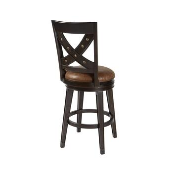 "30"" Santa Fe Upholstered Swivel Barstool view 2"