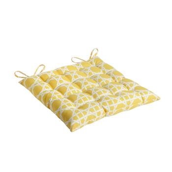 Yellow Cane Indoor/Outdoor Tufted Seat Pad