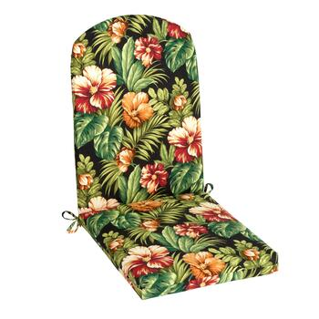 Tropical Flowers Indoor/Outdoor Adirondack Chair Pad