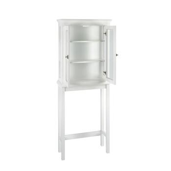 "67"" White Scarsdale Space Saver Cabinet view 2"