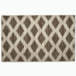 Beige/Brown Geometric Patterns Indoor/Outdoor Area Rug view 1
