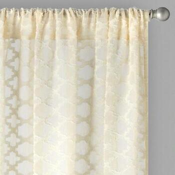 "84"" Layla Bombay™ Rod Pocket Window Curtains, Set of 2"