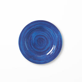 "10.5"" Solid Blue Plate view 1"