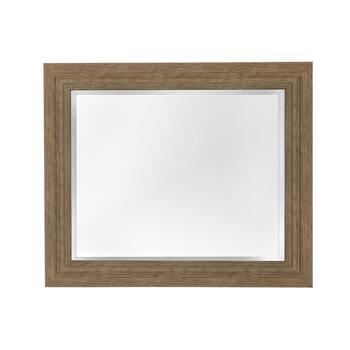 "21""x25"" Charles Driftwood Frame Wall Mirror"