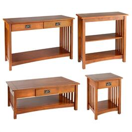 Mission-Style Wood Furniture Collection