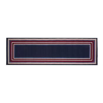 Red/White/Blue Border All-Weather Area Rug view 2 view 3 view 4