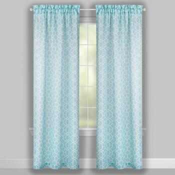 "84"" Arthur Printed Window Curtains, Set of 2 view 2"