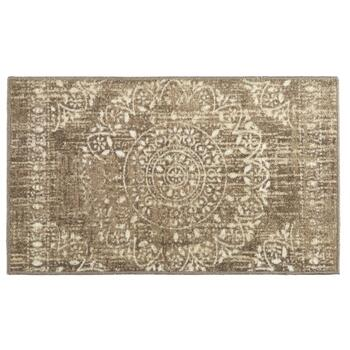 Mohawk Home Taupe Medallion Printed Accent Rug