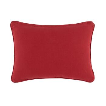 Red/Blue/Yellow Tile Oblong Throw Pillow view 2