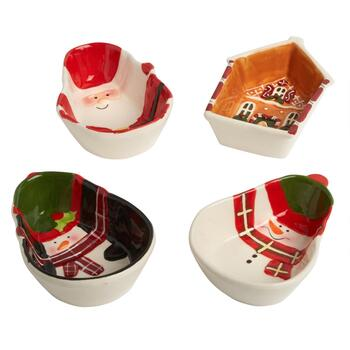 Christmas Icons Tidbit Bowls Set view 2