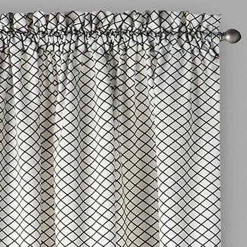 "Traditions by Waverly® 84"" Georgette Window Curtains, Set of 2"
