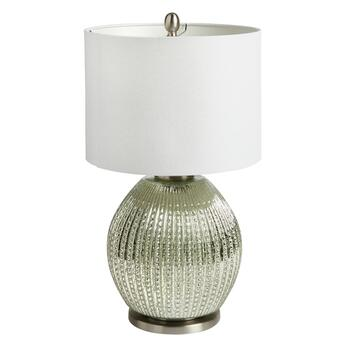 "22"" Antique Pearls Glass Ball Table Lamp"