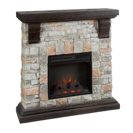 Remote Control Stone Fireplace with Infrared Heat