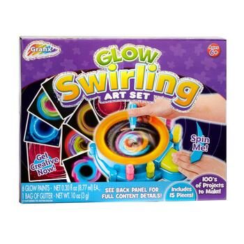 Grafix™ Glow Swirling Art Set