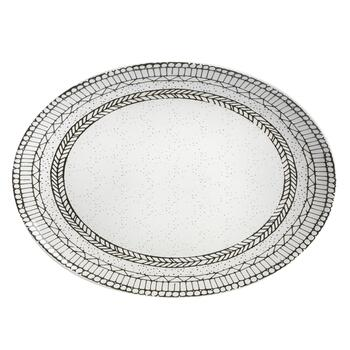 "15"" Digital Geometric Oval Platter view 2"