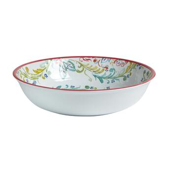 Gypsy Collection Floral Melamine Serving Bowl